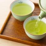 緑茶のカフェイン・ビタミンCの量は?効果は血圧やむくみ対策?